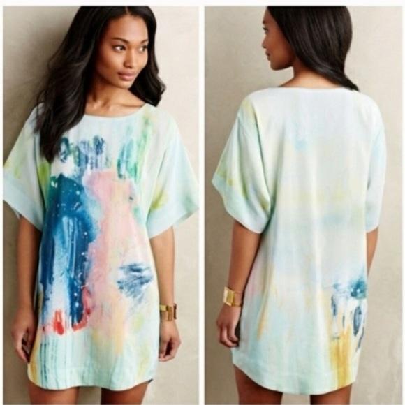 Anthropologie Dresses & Skirts - Anthropologie silk dress